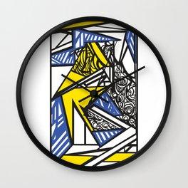 Abstract destijltribal  Wall Clock