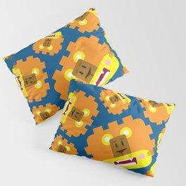 Cute Cartoon Lion Pattern Pillow Sham