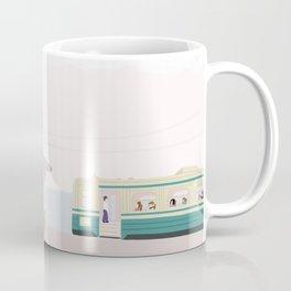 Seaside Bus stop Coffee Mug