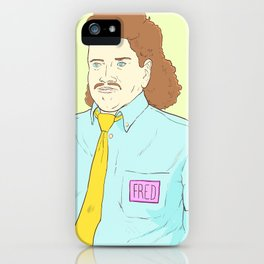 Fred the All-You-Can-Eat Buffet Manager iPhone Case
