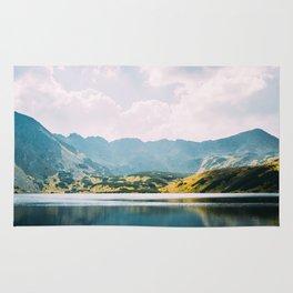 Autumn Mountain Lake Rug