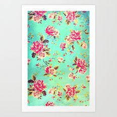 Vintage Flowers XLIII - for iphone Art Print