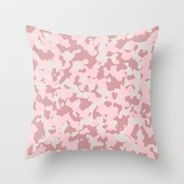 Camouflage Wedding Throw Pillow