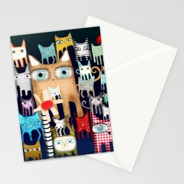 Bunch of Cats Stationery Cards