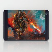 iron man iPad Cases featuring iron man by ururuty