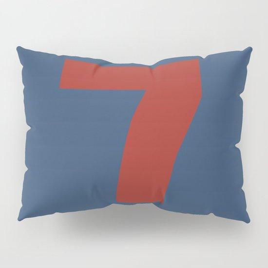 Number 7 Pillow Sham
