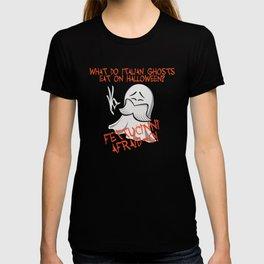 Cheesy Halloween Dad Joke Shirt T-shirt
