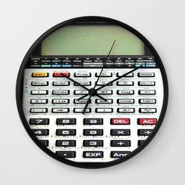 Vintage Calculator Wall Clock