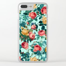 Spring-Summer Botanical Pattern II Clear iPhone Case