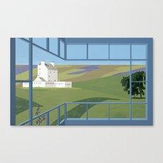 Corgraff Castle Canvas Print