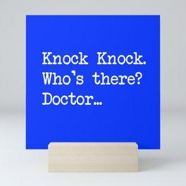 Knock-Knock 1 Mini Art Print