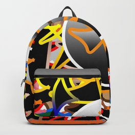 The meeting between all the amorphys frames Backpack