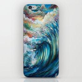 The Rainbow Wave iPhone Skin