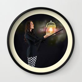Self Discovery. Finding Inner Freedom. Wall Clock