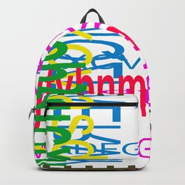 Meeting between ocaissonally letters Backpack