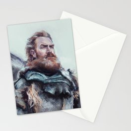 We are kissed by fire. Stationery Cards