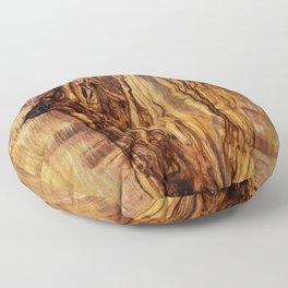 olive tree wood Floor Pillow