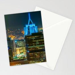 Pittsburgh Pennsylvania City Night Print Stationery Cards
