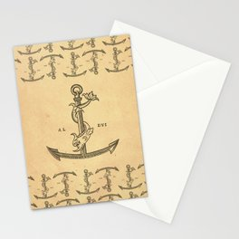 Aldus Manutius Printer Mark Stationery Cards