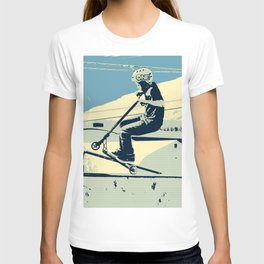 Getting Some Serious Air - Scooter Boy T-shirt