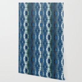 Tie-Dyed Ikat Wallpaper