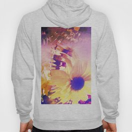 Floral Abstract Hoody