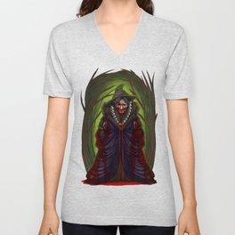Halloween Horror Witch Scary Monster Costume Gift Unisex V-Neck