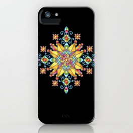 Alhambra Stained Glass iPhone Case