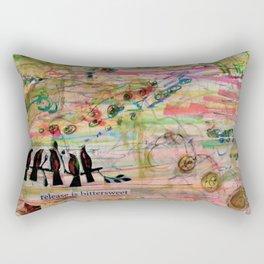 Release is Bittersweet Rectangular Pillow