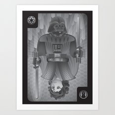 The King of Siths Art Print