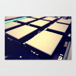 Drum Machine Canvas Print