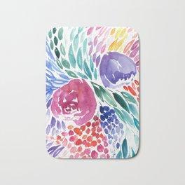 Floral Swirl Bath Mat