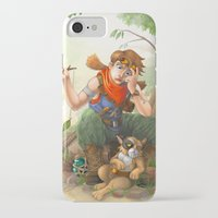 camp iPhone & iPod Cases featuring camp by Fargon