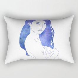 Water Nymph XI Rectangular Pillow