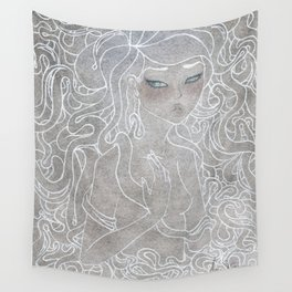 Young Medusa Wall Tapestry