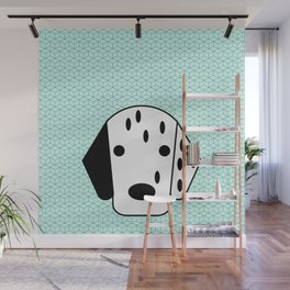Pop Dog Dalmatian Wall Mural