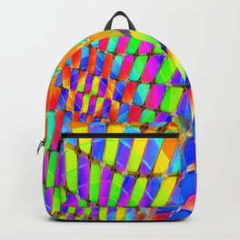 Tumbler #32 Psychedelic Optical Illusion Design by CAP Backpack