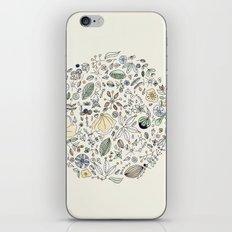 Circulo de flores iPhone & iPod Skin
