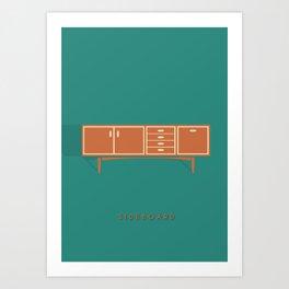 Sideboard Art Print