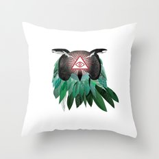 THE KNOWLEDGE SEEKER Throw Pillow