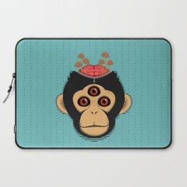 3rd Eye Chimp & Psychedelic Mushrooms Laptop Sleeve