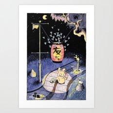 Tomodachi Art Print