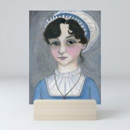 Jane Austen and Her Lost Heart Mini Art Print