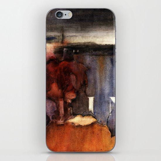 wall 2 iPhone & iPod Skin