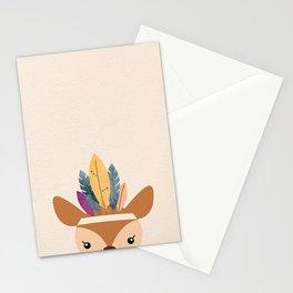 little boho deer Stationery Cards