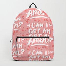 Can I Get An Amen? – Blush Pink Palette Backpack