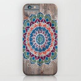 Joey Mandala iPhone Case