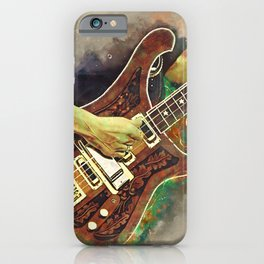 Lemmy's bass guitar iPhone Case