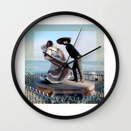Puerto Vallarta, Mexico Sculpture by the Sea Wall Clock
