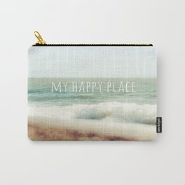 Beach - My Happy Place Carry-All Pouch